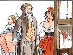 The Famous Erotic Boleros of Manara and  Ravel