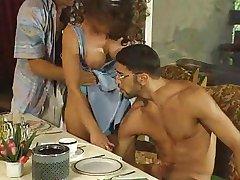Lolita - German Bitch fucked in Restaurant
