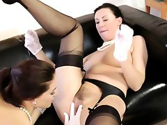 British stockings sluts suck cock