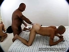 Punch Fucking Daddy in Hot Desert Holes