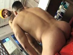 Hard working men