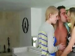 Piano teacher and student cum swapping