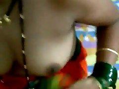 Indian Gal licking Ass in homemade Video