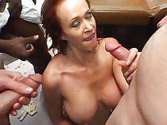 Bailey O'Dare - RedHead Milf Nurse Gangbanged