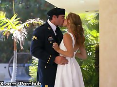 EroticaX Military Wife gets Her Creampie