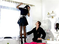 German Maid Fucks Her Master