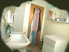 Hidden Cam - BBW Shaving and Getting Off in Bathroom