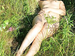 Nudist photos made in the nature