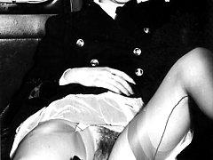 1950s hairy pussy nylon sluts!