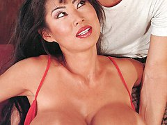 Asian with massive titties