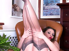 Sophias passion for high heels, exquisite fully fashioned nylons and top lingerie makes the...