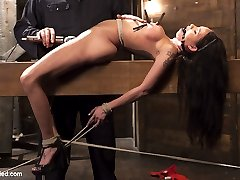 Raven finds herself at the hands of a sick fuck who has his way with her. She is bound tightly...
