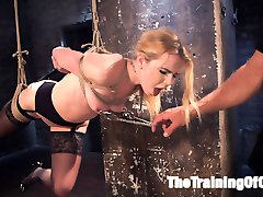 Holy shit this girl can fuck. And she loves being tied up, degraded, slapped around and...