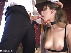 When a beautiful slave girl, Nora Riley, falls in love with her Master, Derrick Pierce, she learns that love and submission are not the same thing.Nora Riley is a sexy, submissive pain slut that loves to be punished and rough anal sex/ Derrick dominate Nora with a firm hand, striping her ass with a cane and fucking her as tearful whimpers come from behind the tight ball gag.