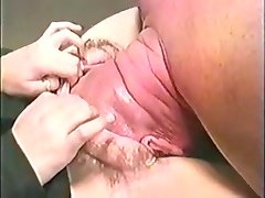 Excellent Fake ! Head  in Giant Hairy Pussy Fisting 1