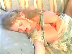 Big Tits MILF stepmom let her son to fuck her