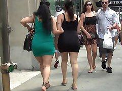 Super Sexy Big Ass In Tight Dress