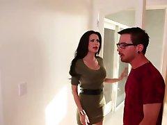 Horny Mom Blows Daughter's Ex-Boyfriend!!!