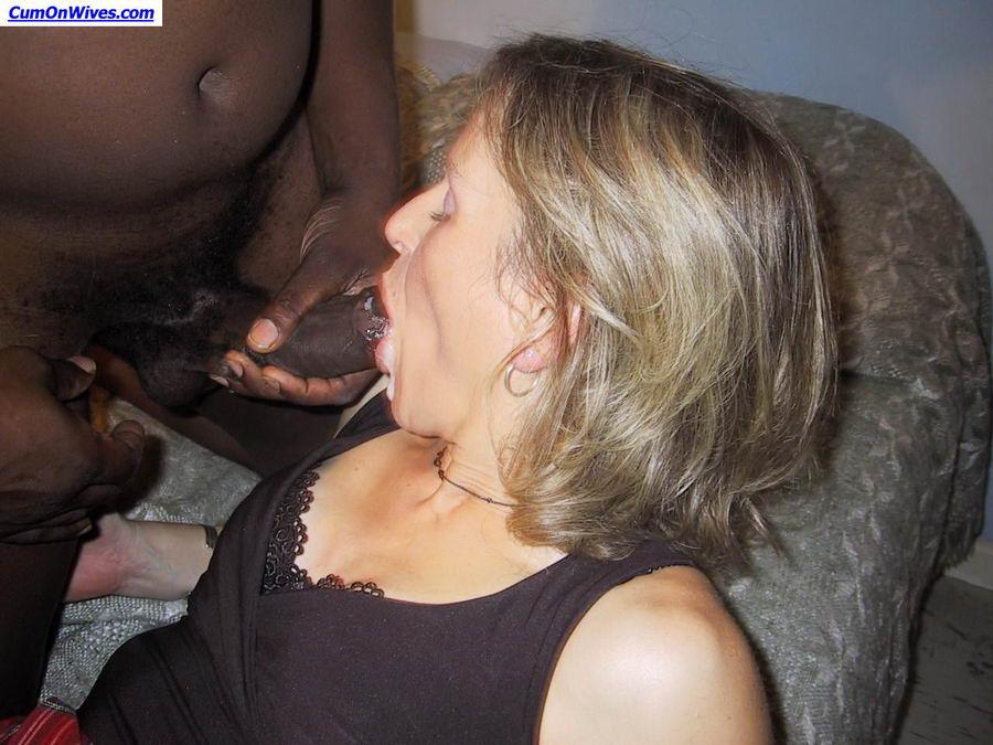 Milf faced girls sucking cock