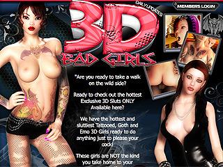 3d Badgirls