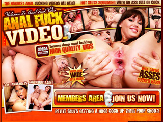 Anal Fuck Video