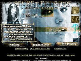 Secret Fetishes