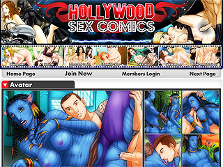 Hollywood Sex Comics