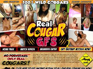 Real Cougar GFs
