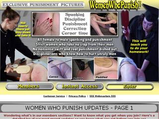 Women Who Punish
