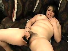 Horny Fat Chubby Teen Morning Hairy Pussy Masturbation