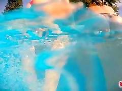 Lesbian Teens Playing At The Pool. Big Tits! Big Asses!