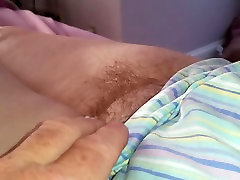 sexy feet & hairy pussy early in the morning