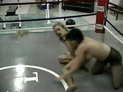 napi cheating Pantyhose Wrestling
