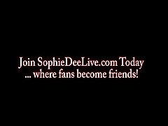 Sophie Dee cutie weed Dildo Blowjob!