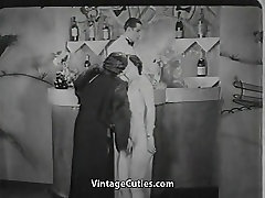 Pretty Babe in the Bar 1920s Vintage