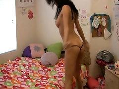 Sexy Girl In Webcam Doing Strip Dance