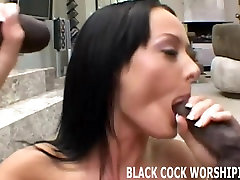 Watch me man handle these two big hard black cocks
