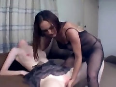 Lesbian domination and pussy slapping