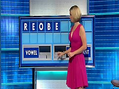 Rachel Riley - Lovely Big Tits Pink Dress