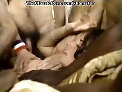 Lyn Cuddles Malone, Dan Roberts, Joey Silvera in classic sex