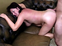 Old mom and granny takes young boy&039;s big cock