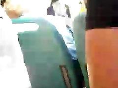 teen ass in bus