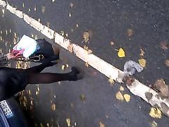 Street voyeur - Milf with sexy legs
