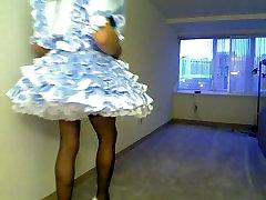Pretty Sissy Models Ruffle Dress
