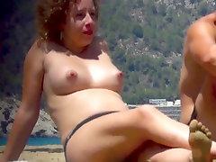 incredible perky topless ibiza nudist