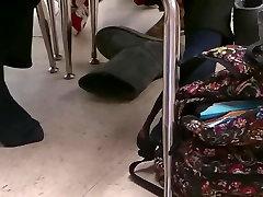 My Friend&039;s Candid Feet in Socks