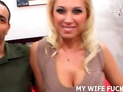 Watch you wife get railed by a male pornstar