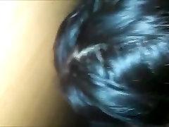 Hot amateur makes a cock cum at the gloryhole