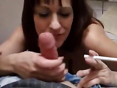 smoking amateur homemade milf with ugly loser