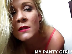 My pink panties will make you nice and horny JOI
